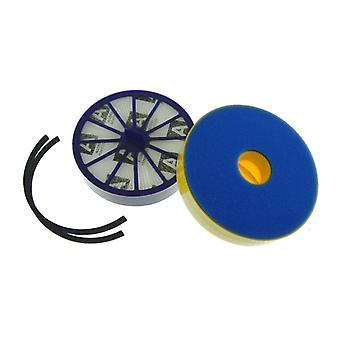 Dyson DC14 Washable Dual Filter & Hepa Post Vacuum Cleaner Filter Kit + Hepa Filter Seal