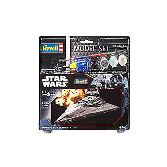 Revell 63609 Star Wars Rogue One Set Imperial Destroyer Plastic Model Kit