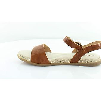 B.O.C Womens Welch Leather Open Toe Casual Slingback Sandals