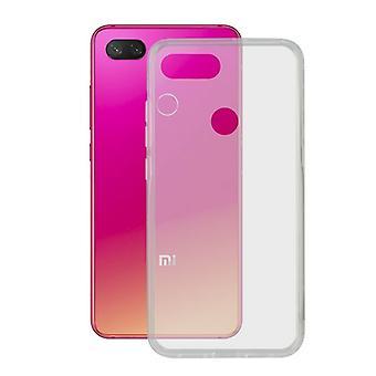 Mobile kansi Xiaomi Mi 8 Lite KSIX Flex TPU läpinäkyvä