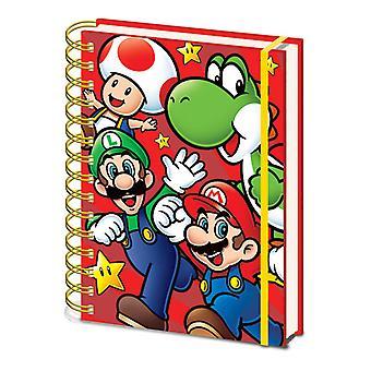 Super Mario Ajaa A5 Notebook