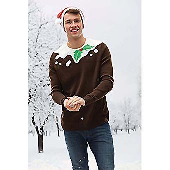 Christmas Shop Unisex Pudding Design jul Jumper