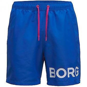 Bjorn Borg BORG Logo Swim Shorts, Skydiver Blue
