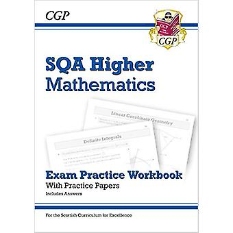 New CfE Higher Maths - SQA Exam Practice Workbook - includes Answers b