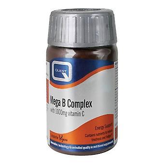 Quest Vitamins Mega B Complex (+1000mg Vit C) Tabs 30 (601203)