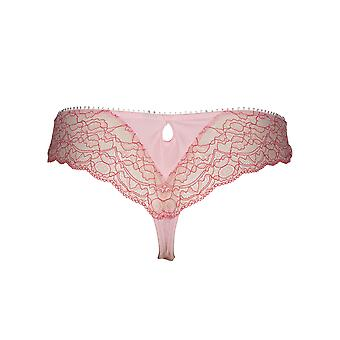 Nach Eden D-Cup & Up 20.35.7595-143 Frauen's Loua Pink Lace Panty Tanga