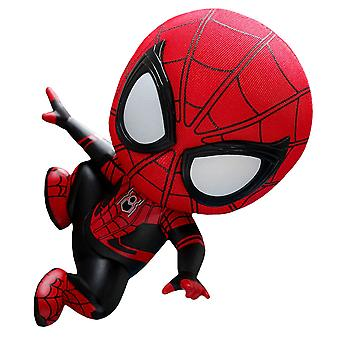 Spider-Man lejos de la pared de casa Crawl Cosbaby