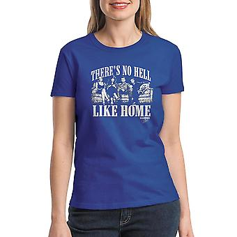 Married With Children Like Home Women's Royal Blue T-shirt