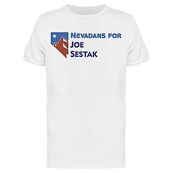 Nevadans Joe Sestak Mænd's T-shirt