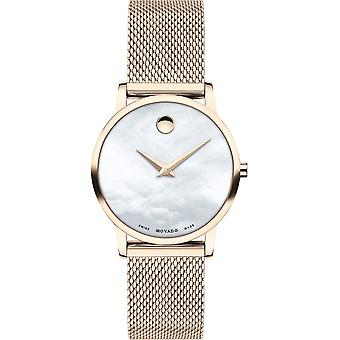Movado - Wristwatch - Ladies - 0607352 - MUSEUM CLASSIC - Quartz Watch