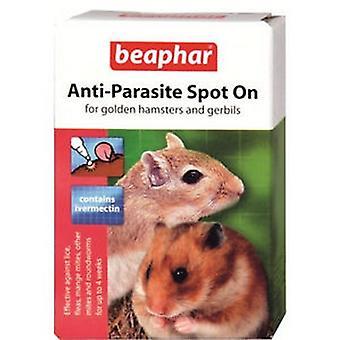 Beaphar Golden Hamster And Gerbil Anti Parasite Spot On Liquid Treatment