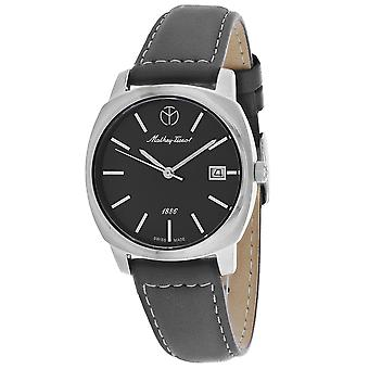 Mathey Tissot Mujeres's Smart Black Dial Watch - D6940AS