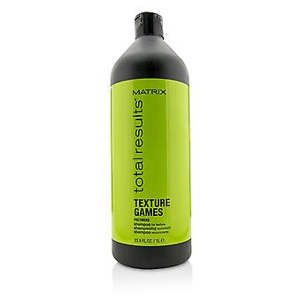 Total results texture games polymers shampoo (for texture) 1000ml/33.8oz
