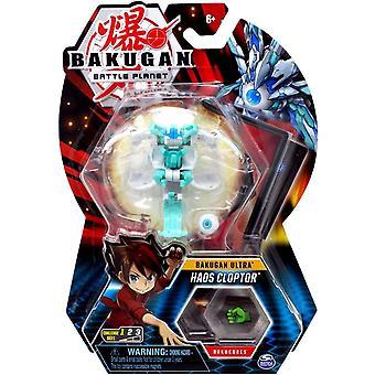 Bakugan Ultra 1 Pack 3 Inch Figure Haos Clopter