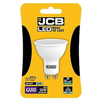 JCB LED GU10 5w Bulb Cap Blister Packed 370lm 6500k