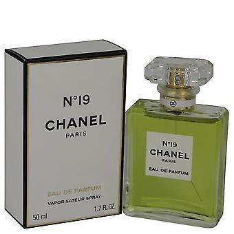 Chanel 19 Eau De Parfum Spray By Chanel 1.7 oz Eau De Parfum Spray