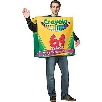 Crayola Box tunika vuxen