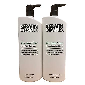 Keratin Complex Keratin Care Shampoo & Conditioner 33.8 OZ Set