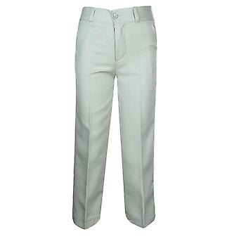 Boys Formal Beige Trousers