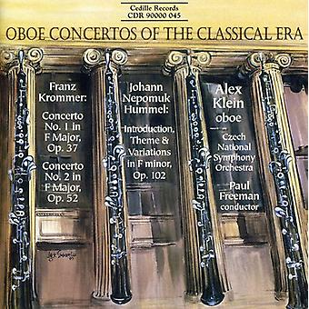 Krommer/Hummel - Oboe Concertos of the Classical Era [CD] USA import