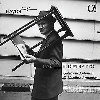 Haydn / Antonini, Giovanni / Il Giardino Armonico - Haydn: Symphonies Vol 4 - Il Distratto [CD] Importación de Estados Unidos