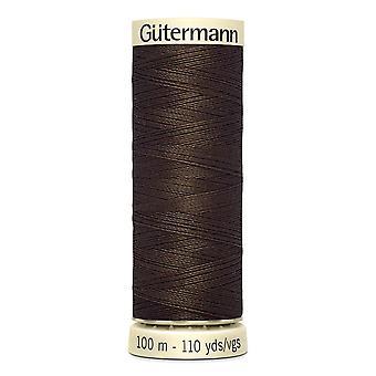 Gutermann sy-alle 100% polyestertråd 100m Hånd- og maskinfarvekode - 817