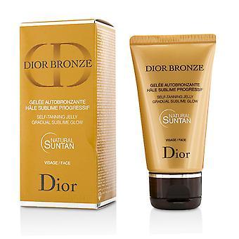 Dior bronze self tanning jelly gradual sublime glow face 214602 50ml/1.7oz