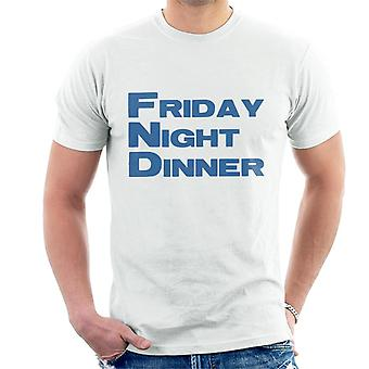 Friday Night Dinner Logo Men's T-Shirt