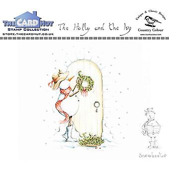 The Card Hut Snowboots: The Holly and the Ivy Clear Stamps