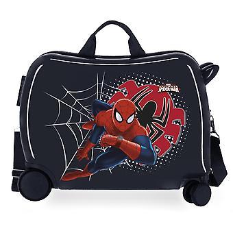 Czarny Spiderman Tech Jazda Sprawa