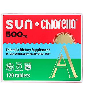 Sun Chlorella, A, 500 mg, 120 Tablets