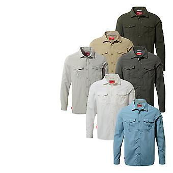 Craghoppers Mens Nosilife Adventure Long Sleeve Shirt