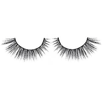 Bliss False Eyelashes - #124 / Black - Elegant 3D Effect Luscious Lashes