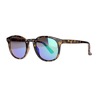 نظارات شمسية Unisex Cat.3 سلحفاة بنية / زرقاء (amm19107e)