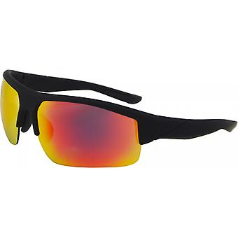 Sunglasses Unisex Sport Kat. 3 matt black/orange (9215-B)