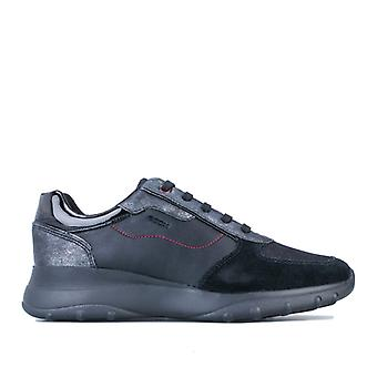 Women's Geox Alleniee Trainers in Black