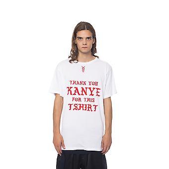 Nicolo Tonetto Bianco White T-Shirt NI680296-S