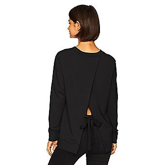 Marque - Daily Ritual Women's Terry Cotton et Modal Tie-Back Sweatshir...