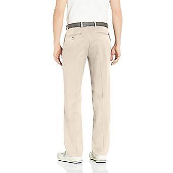 Essentials Men's Standard Classic-Fit Stretch Golf Pant, Stone, 28W x ...