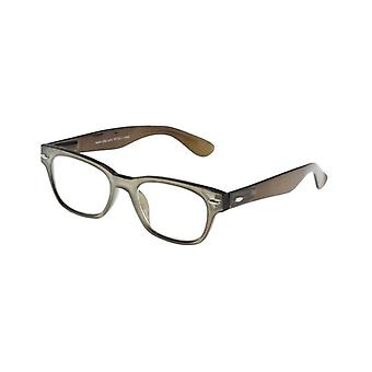 Reading Glasses Unisex LE-0146J Fashion brown/grey thickness +3.00