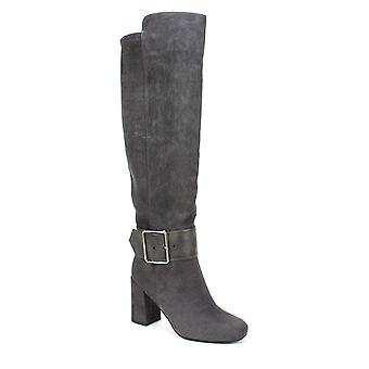 White Mountain Womens W27970-882-9H Suede Closed Toe Knee High Fashion Boots