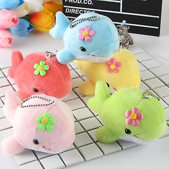 Cute Dolphin Kawaii Soft Pp Cotton Stuffed Animal Plush Toy (1pcs Random Color)