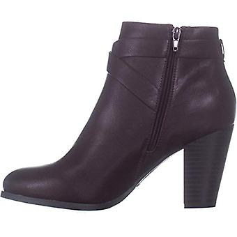 Call It Spring Womens Tecia-601 Leather Closed Toe Ankle Fashion Boots