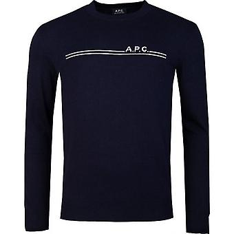 Apc Chest Logo Jumper
