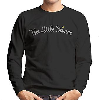 The Little Prince Text Logo Men's Sweatshirt