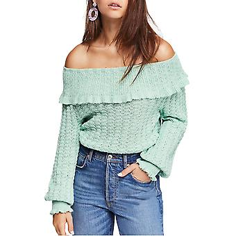 Free People | Crazy In Love Ruffle Sweater