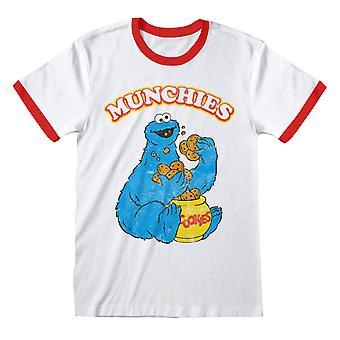 Sesame Street Unisex Adult Munchies T-Shirt
