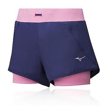 Mizuno Mujin 2in1 4.5 Women's Shorts