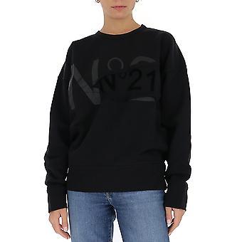 N°21 E03263139000 Femmes's Sweatshirt en coton noir