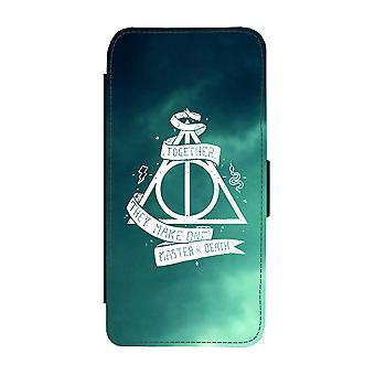Harry Potter Master Of Death Samsung Galaxy S9 Wallet Case